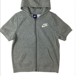 Boys Nike short sleeve hoodie sz XL